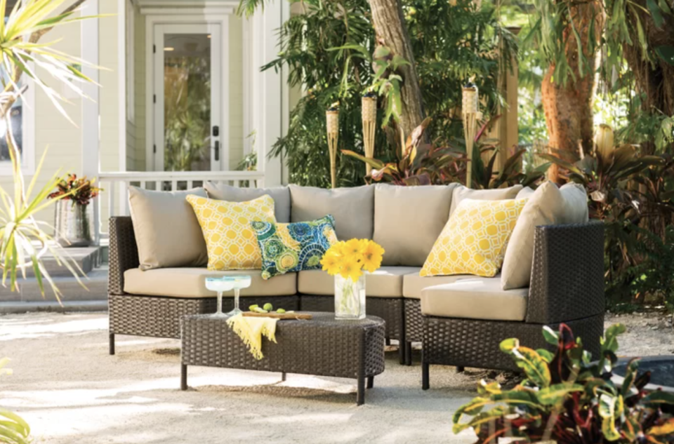 Your backyard is about to become your oasis. (Photo: Wayfair)