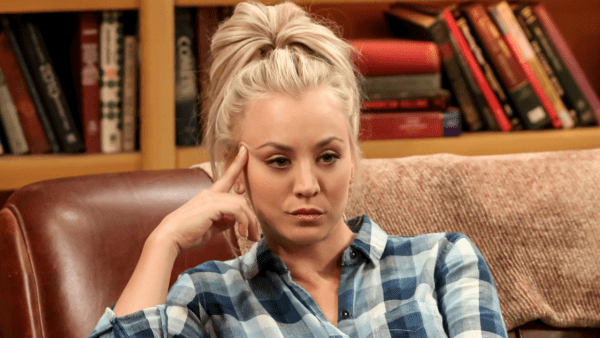 Penny (Kaley Cuoco) in 'The Big Bang Theory'. Credit: Glamour