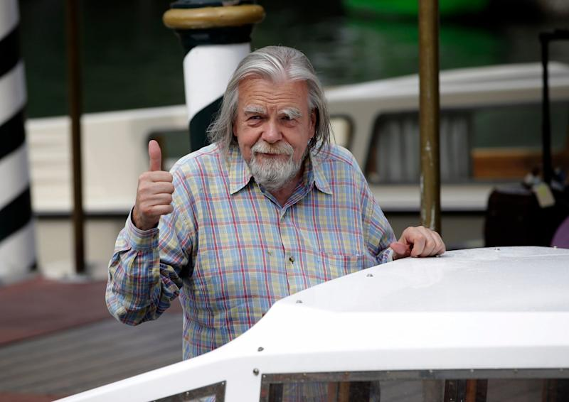 Michael Lonsdale arrives at the 69th edition of the Venice Film Festival in Venice (file photo): AP