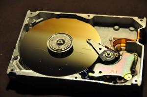 Hard Disk close-up