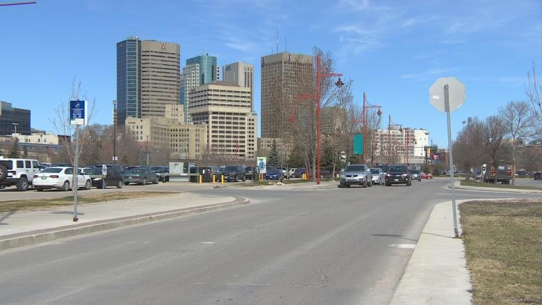 The Forks prepares to narrow 'highway' entrance to make room for a linear park
