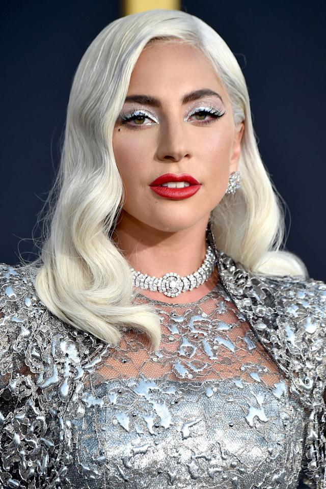 "<p><strong>Who:</strong> Lady Gaga</p><p><strong></strong><strong>What: </strong>Metallic Makeup</p><p><strong>How: </strong>Makeup artist Sarah Tanno shared exactly what products she used on Lady Gaga for last night's Los Angeles premiere of <em>A Star is Born</em>. ""Using all <a rel=""nofollow"" href=""https://www.instagram.com/Marcbeauty/"">@Marcbeauty</a> new Sequins on the lids in Flashlight and Oh Miley lipstick,"" she wrote in an Instagram caption. The Marc Jacobs Beauty See-quins Glam Glitter Eyeshadow is currently only available in two shades (neither of which are silver), so we look forward to this brand-new shade.</p><p><strong>Editor's Pick: Marc Jacobs Beauty </strong>See-quins Glam Glitter Eyeshadow,  $28, <a rel=""nofollow"" href=""https://www.sephora.com/product/see-quins-glam-glitter-eyeshadow-fall-runway-edition-P435937?skuId=2125466"">sephora.com</a>.</p><p><strong></strong><a rel=""nofollow"" href=""https://www.sephora.com/product/see-quins-glam-glitter-eyeshadow-fall-runway-edition-P435937?skuId=2125466"">SHOP</a></p>"