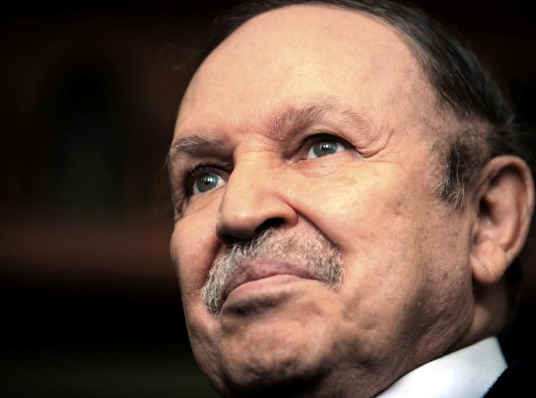 Bouteflika, pictured on February 8, 2009, was president for 20 years (AFP/Fayez Nureldine)