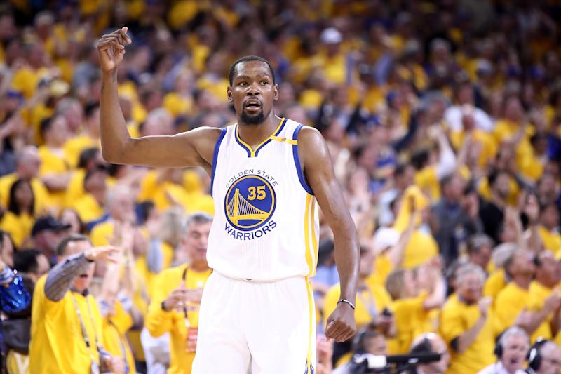Kevin Durant channeled his inner Black Mamba to beat the Lakers
