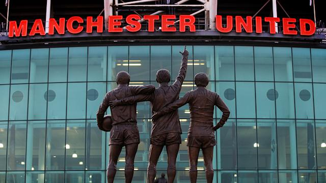 Eamonn first visited Old Trafford, Manchester United's home ground, in 1972