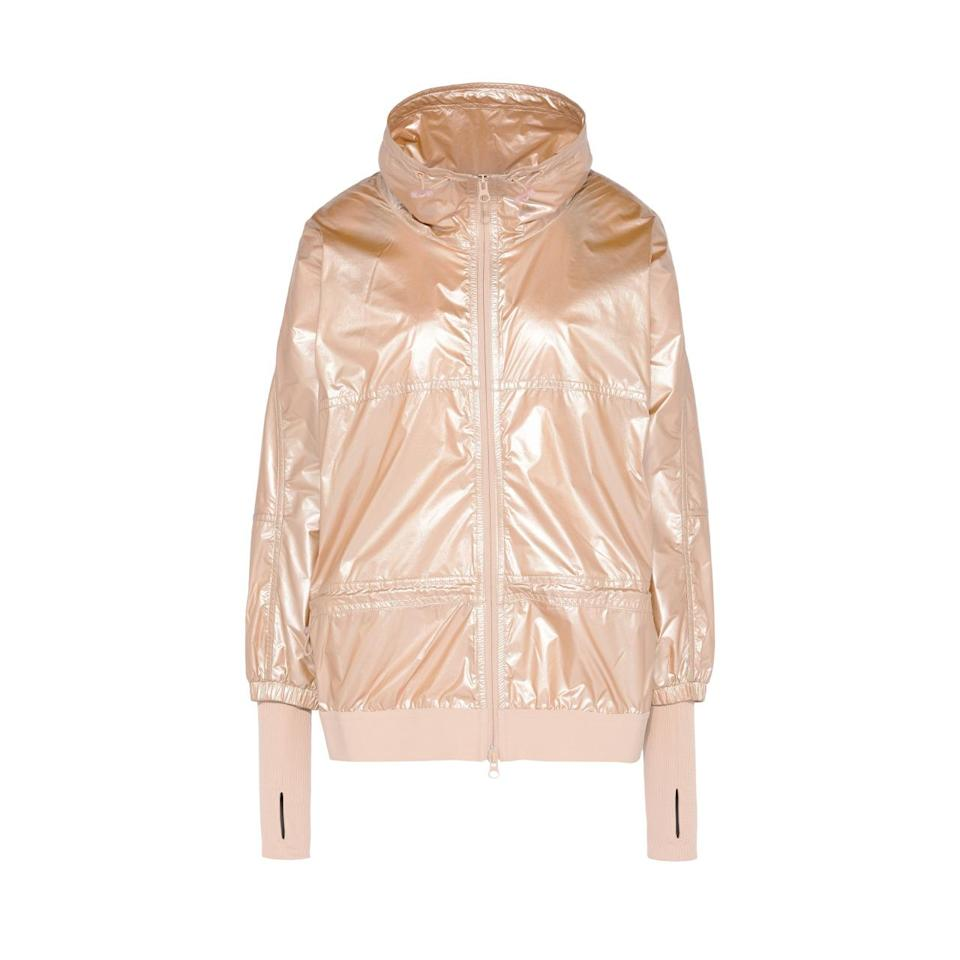 "<p><i><a href=""http://www.stellamccartney.com/us/adidas-by-stella-mccartney/adidas-jackets_cod34661645gn.html#section=adidas_running"" rel=""nofollow noopener"" target=""_blank"" data-ylk=""slk:Stella McCartney, £147"" class=""link rapid-noclick-resp"">Stella McCartney, £147</a></i></p>"