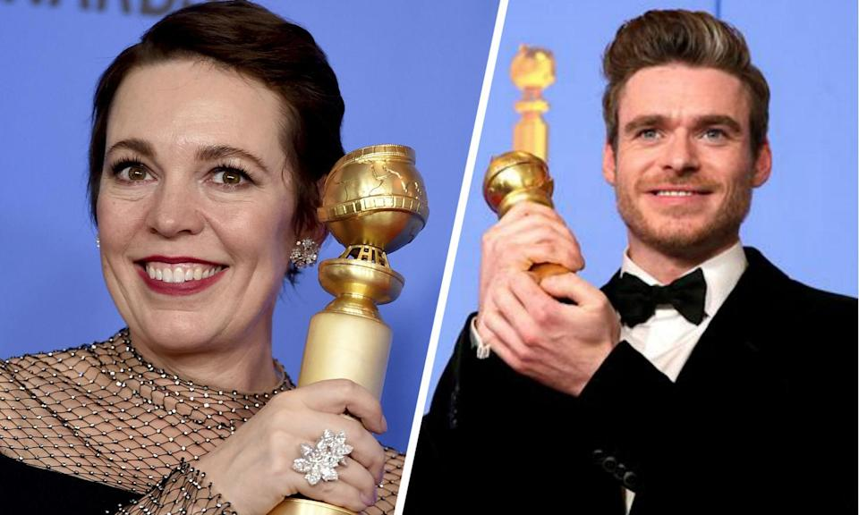 All the Brit winners at the Golden Globes 2019