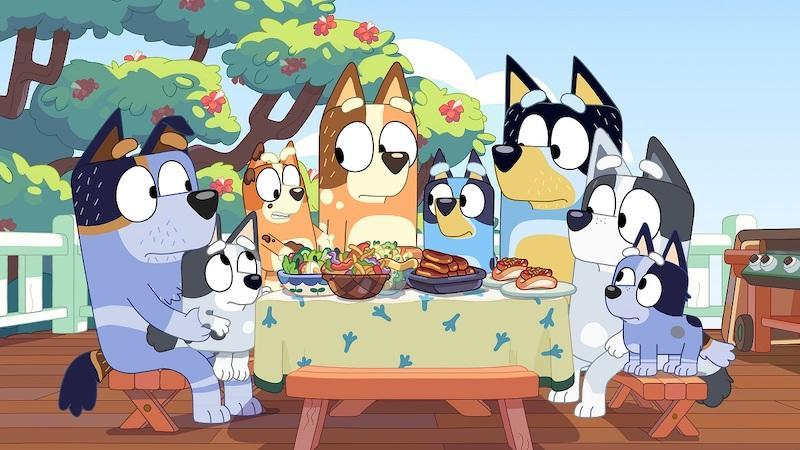 'Bluey' was named Best Children's Program in 2019 and 2020 at the Australian Academy of Cinema and Television Arts Awards. — Picture courtesy of BBC Studios