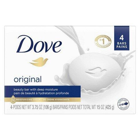 best-face-wash-for-acne-Dove Beauty Bar