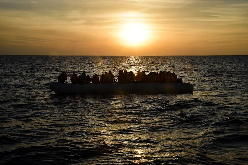The inflatable boat, carrying 51 migrants, started to sink in the waters of the Aegean off Dikili, the official Anadolu news agency reported