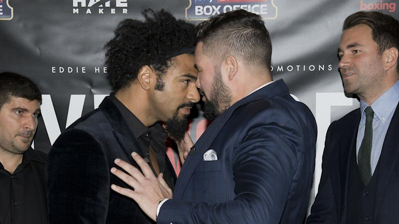 Haye: I could beat Bellew in round one in worst shape of my career