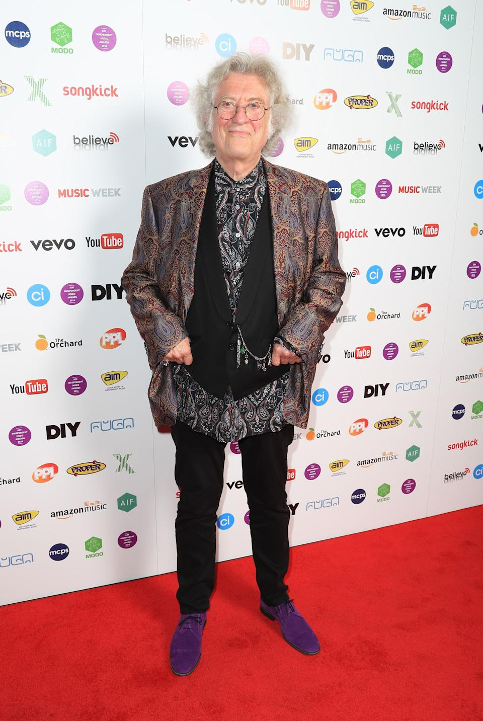 Noddy Holder attends the AIM Awards at The Brewery in London.