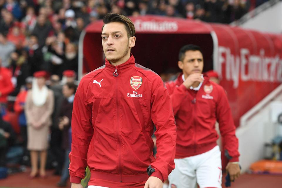 <p>Mesut Ozil has likely played his last game in an Arsenal shirt</p> (Stuart MacFarlane/Arsenal FC via Getty Images)