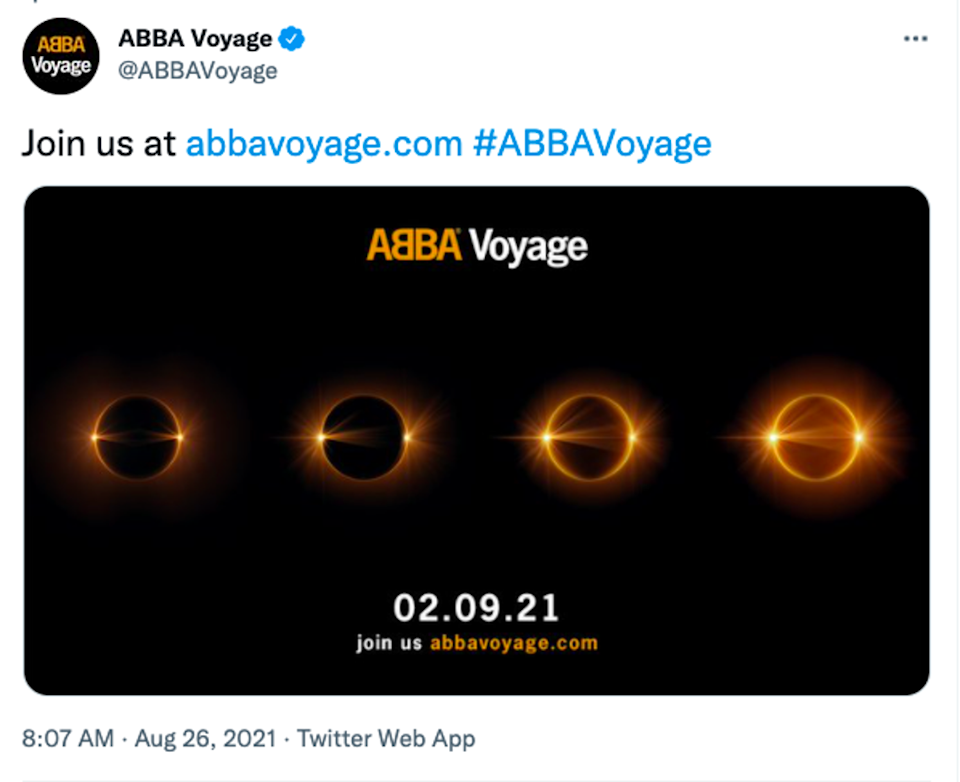 ABBA have teased a new project (Twitter)
