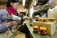 """'Fake food' in Japan is still hand-produced as the makers say that machines """"don't know what is beautiful and appetising."""""""