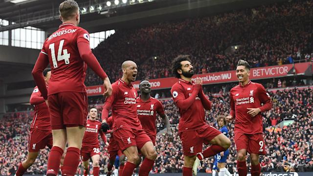 The Egypt international scored a screamer to see the Reds ease past his former employers on April 14