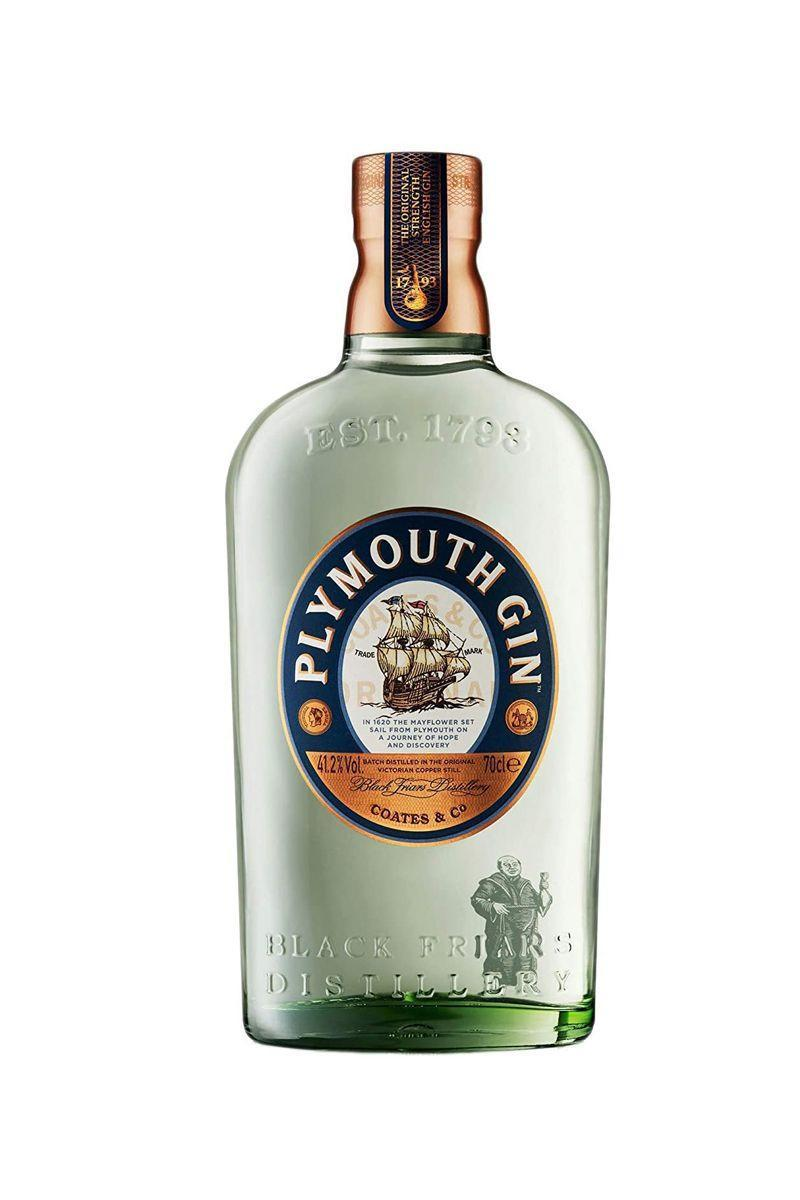 """<p>Smooth and creamy, this gin is tantalising served with a twist of lemon. Better yet, there's recycled glass used in the Plymouth Gin bottles.</p><p>Plymouth - £20 (70cl)</p><p><a class=""""link rapid-noclick-resp"""" href=""""https://www.amazon.co.uk/Plymouth-Original-Dry-Gin-70/dp/B0074HZD22/ref=sr_1_8?dchild=1&keywords=gin&qid=1587382837&s=grocery&sr=1-8&tag=hearstuk-yahoo-21&ascsubtag=%5Bartid%7C1921.g.31768%5Bsrc%7Cyahoo-uk"""" rel=""""nofollow noopener"""" target=""""_blank"""" data-ylk=""""slk:SHOP NOW"""">SHOP NOW</a></p>"""