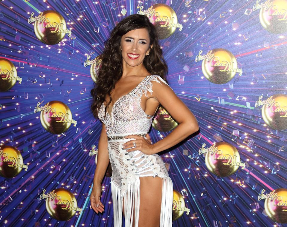 Janette Manrara at the Strictly Come Dancing Launch at BBC Broadcasting House in London. (Photo by Keith Mayhew / SOPA Images/Sipa USA)