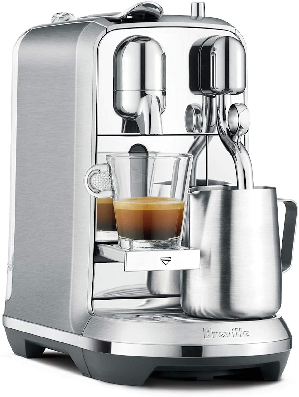 nespresso machine fancy breville