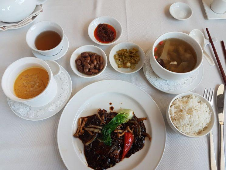 The Executive Set Lunch ($18++) at Raffles Marina, behind the upcoming Tuas Link MRT station which is set to open on 18 June 2017. (Photo: Audrey Kang/Yahoo Lifestyle Singapore)