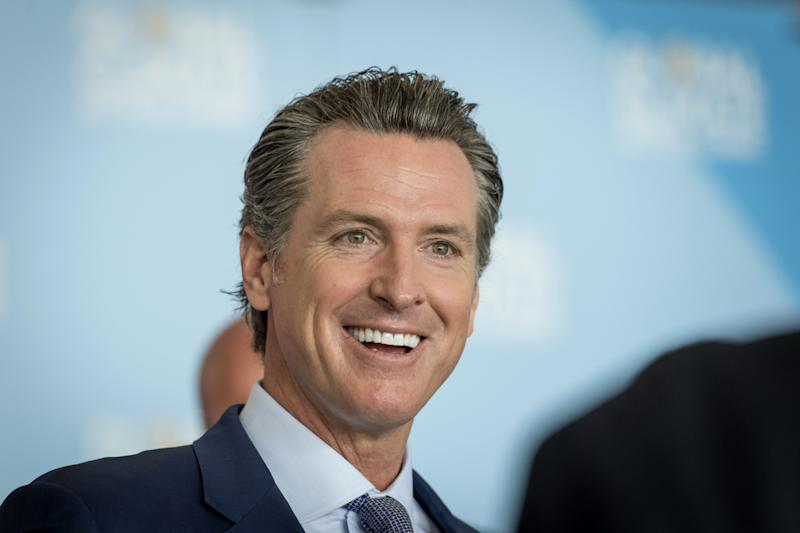 California's Gavin Newsom Uses Boom to Pay Down a $256 Billion Debt