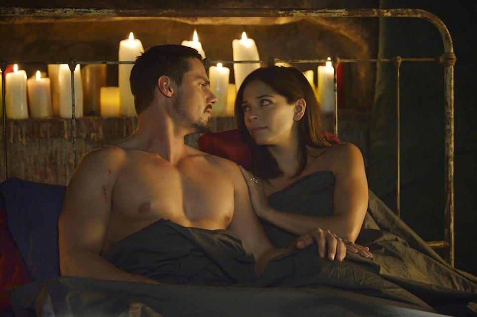 """<p>Kristin Kreuk and Jay Ryan star in <strong>Beauty and the Beast</strong>, a very sexy modern retelling of the classic fairy tale with a suspenseful twist.</p> <p><a href=""""https://www.netflix.com/title/70242079"""" class=""""link rapid-noclick-resp"""" rel=""""nofollow noopener"""" target=""""_blank"""" data-ylk=""""slk:Watch Beauty and the Beast on Netflix now"""">Watch <strong>Beauty and the Beast</strong> on Netflix now</a>. </p>"""