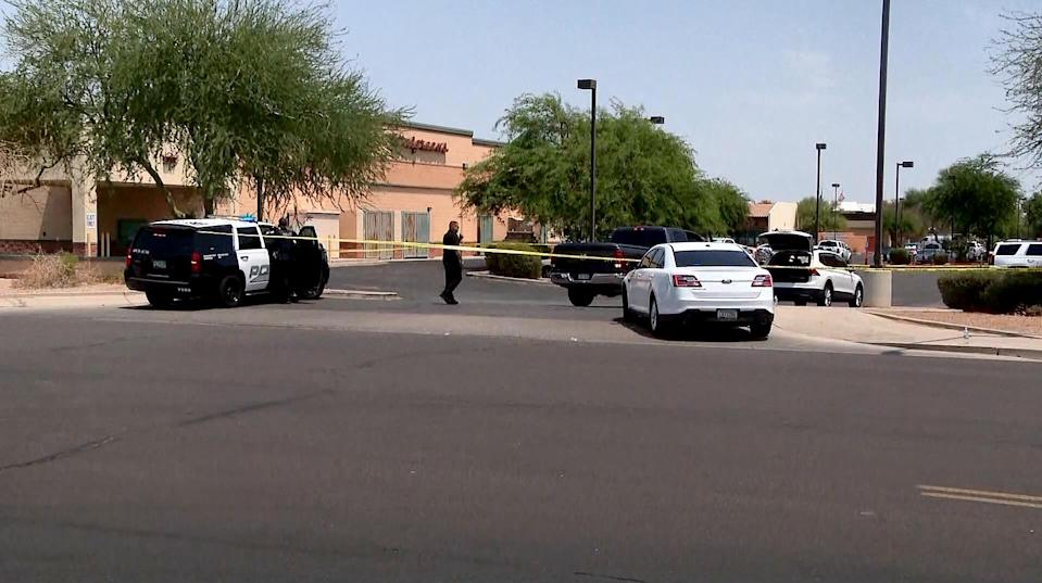 One person is dead and 13 people have been injured after several shootings in the West Valley area outside of Phoenix, Ariz., officials said on June 17, 2021. (KPNX)