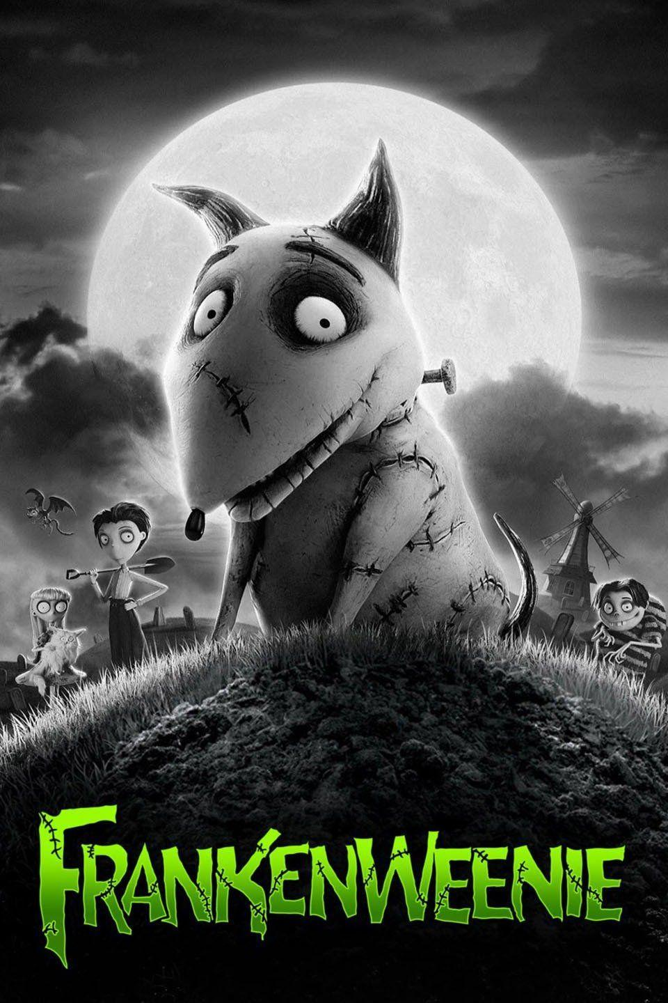 """<p>When a little boy's beloved dog, Sparky, dies, he just can't face life without him. After learning from his science teacher that even after death, muscles respond to electricity, he doesn't have to. In this black-and-white animated film by Tim Burton, <em>Frankenstein</em> meets <em>Lassie</em> for an eerily entertaining tale of man's best friend.</p><p><a class=""""link rapid-noclick-resp"""" href=""""https://go.redirectingat.com?id=74968X1596630&url=https%3A%2F%2Fwww.disneyplus.com%2Fmovies%2Ffrankenweenie-2012%2FmsxVowQvL18k&sref=https%3A%2F%2Fwww.countryliving.com%2Flife%2Fentertainment%2Fg32748070%2Fdisney-plus-halloween-movies%2F"""" rel=""""nofollow noopener"""" target=""""_blank"""" data-ylk=""""slk:WATCH NOW"""">WATCH NOW</a></p>"""