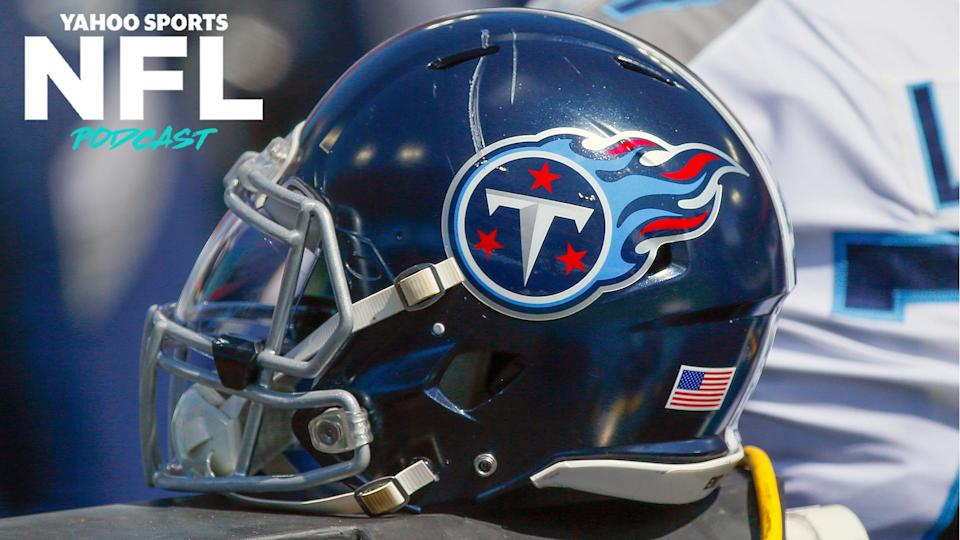 The Tennessee Titans are likely to receive punishment from the league after an internal analysis revealed safety violations that may have resulted in the league's largest cluster of coronavirus cases. (Photo by Frederick Breedon/Getty Images)