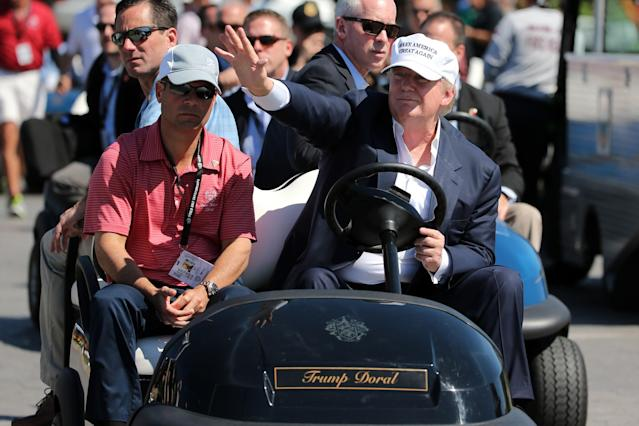 Trump National Doral, site of a PGA Tour event from 1962 through 2016, will host a PGA Tour sanctioned event once again