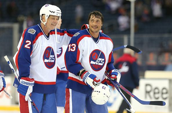 sports shoes 7cc9b 60227 Teemu Selanne's late penalty shot lifts Jets in Heritage ...