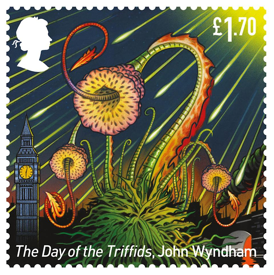 The Day Of The Triffids stamp