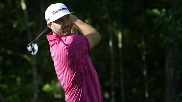 Dustin Johnson did not look rusty at the Wells Fargo Championship as he produced a solid display in his first tournament since late March.