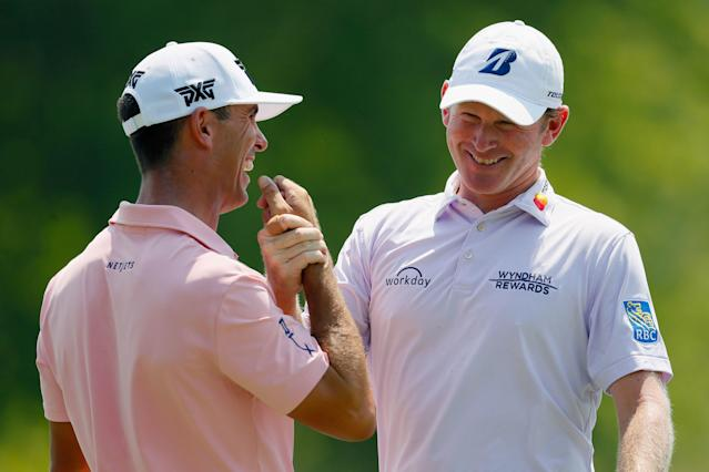 "<div class=""caption""> Horschel often plays practice rounds with Brandt Snedeker, the duo sharing the same swing coach and stats guru. </div> <cite class=""credit"">Kevin C. Cox/Getty Images</cite>"