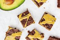 """Avocados add creamy, nutrient-dense richness, taking the place of butter in these baked sweets. <a href=""""https://www.epicurious.com/recipes/food/views/avocado-peanut-butter-brownies?mbid=synd_yahoo_rss"""" rel=""""nofollow noopener"""" target=""""_blank"""" data-ylk=""""slk:See recipe."""" class=""""link rapid-noclick-resp"""">See recipe.</a>"""