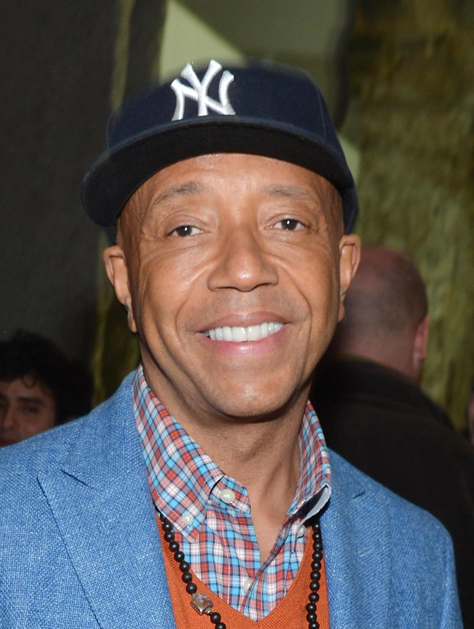 "<b>Russell Simmons:</b> ""praying for the people of Aurora, Colorado."" (Photo by Mike Coppola/Getty Images)"