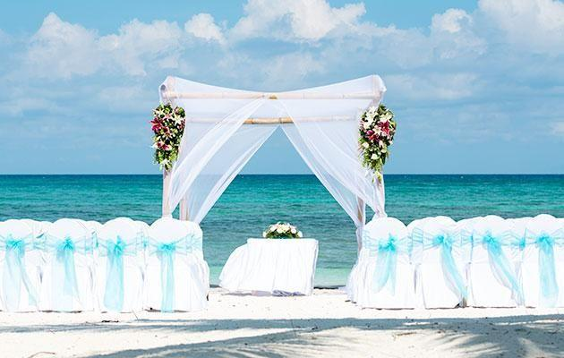 The set-up can put a lot of stress on your celebrant. Photo: Getty