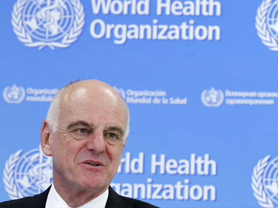 David Nabarro, WHO special envoy for Covid-19 (REUTERS)