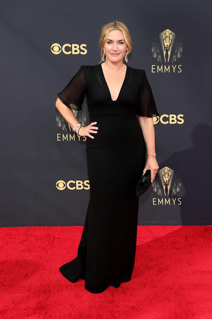 Kate Winslet Emmys red carpet 2021 (Rich Fury / Getty Images)