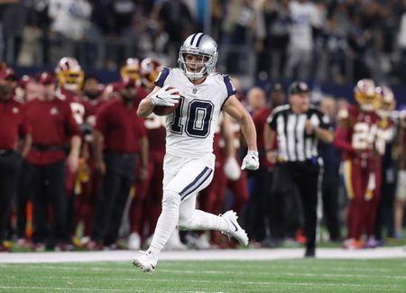 FILE PHOTO: Nov 30, 2017; Arlington, TX, USA; Dallas Cowboys receiver Ryan Switzer (10) returns a punt for a touchdown in the fourth quarter against the Washington Redskins at AT&T Stadium. Mandatory Credit: Matthew Emmons-USA TODAY Sports