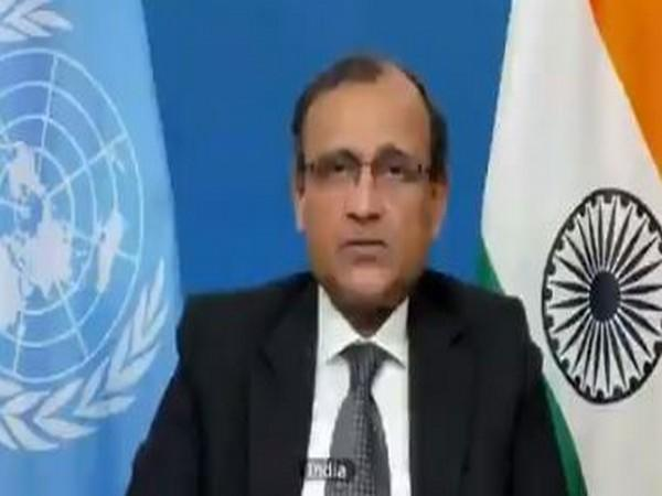 Ambassador TS Tirumurti Permanent Representative of India to the United Nations. (Photo/ANI)