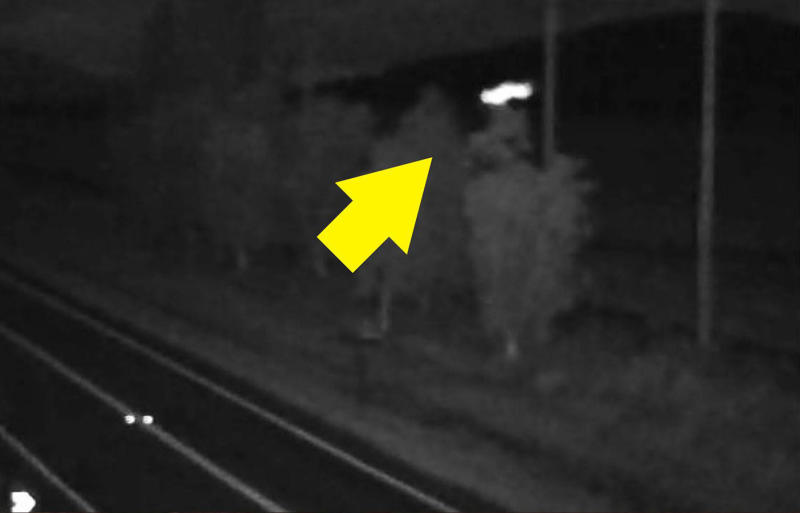 The source of the mysterious white light seen on an infrared road camera in Tully, Queensland, led to alien and conspiracy theories.