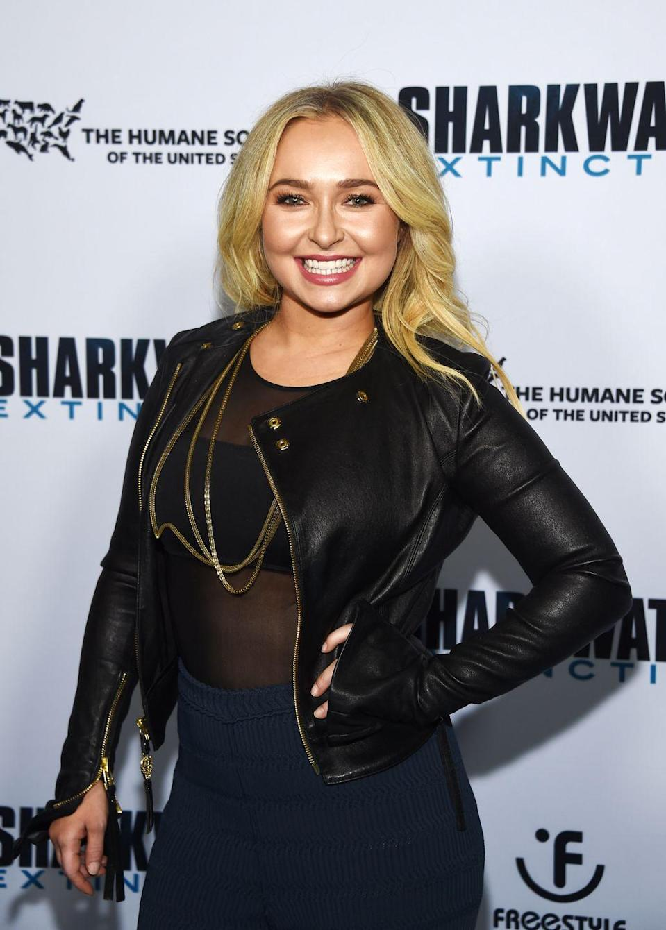 <p>Since her big break on <em>One Life to Live </em>when she was just 5, Hayden has had a long career in movies and on TV, in hits like <em>Heroes </em>and <em>Nashville</em>. She's also the mom to a four-year-old daughter.</p>