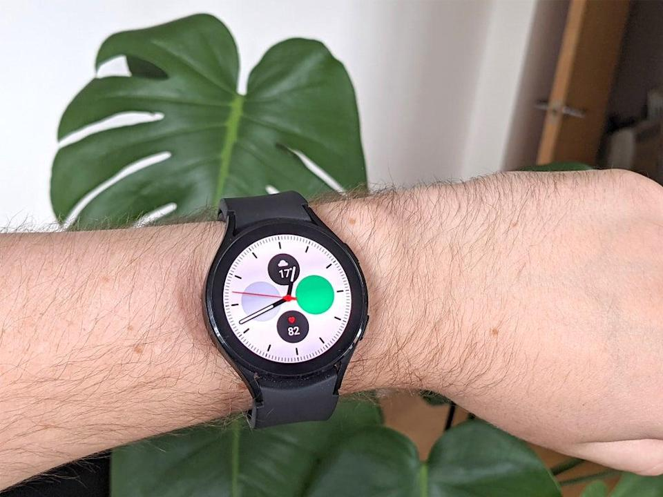 There are countless downloadable custom watch-faces to choose from (Steve Hogarty/The Independent)