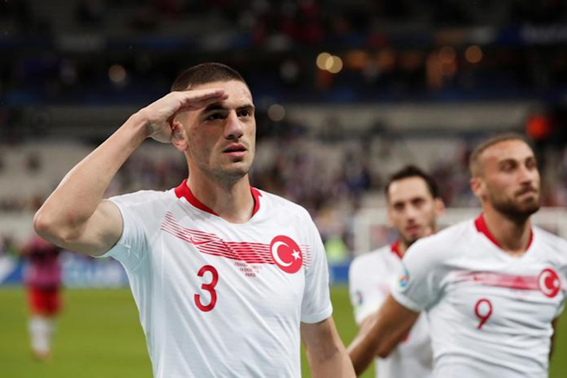 Turkey Defends Footballers Saluting Soldiers after Goal against France