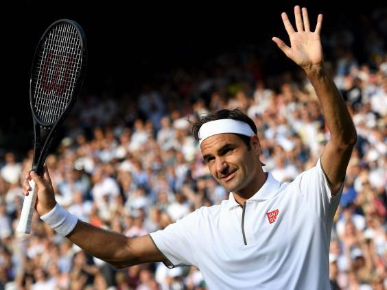 Federer has hit form once again at Wimbledon (EPA)