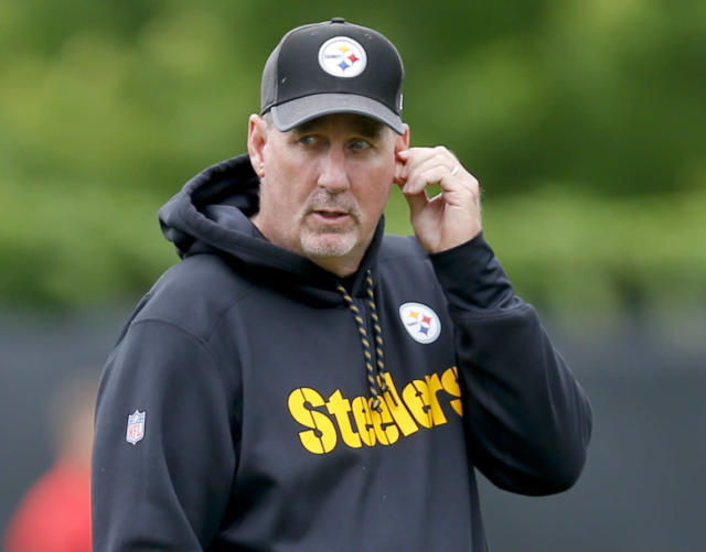 Pittsburgh Steelers defensive coordinator Keith Butler is preparing for the Bengals on Sunday. (AP)