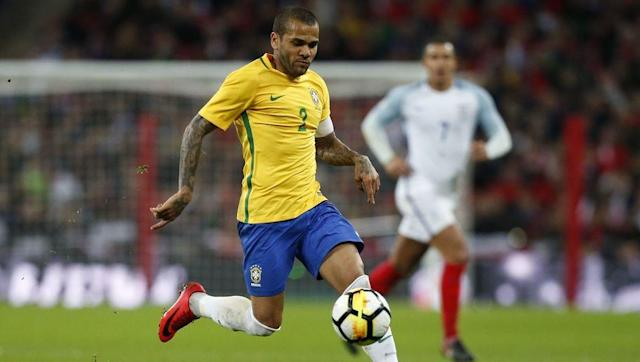 <p>At the age of 34, Dani Alves does not look like he is slowing down anytime soon. A serial winner at Barcelona, Alves earned six La Liga and three Champions League titles in his time at the Catalan Club. </p> <br><p>He has since gone on to find success at Juventus and now at Paris Saint-Germain. </p> <br><p>While he has one Copa America win with Brazil under his belt and over 100 caps, a winners medal at the biggest competition of them all would complete an already magnificent career. </p>
