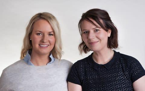 <span>Brid Ryan and sister Aedin Corby founded Irish sportswear company Queen B Athletics</span> <span>Credit: Ben Rodford </span>