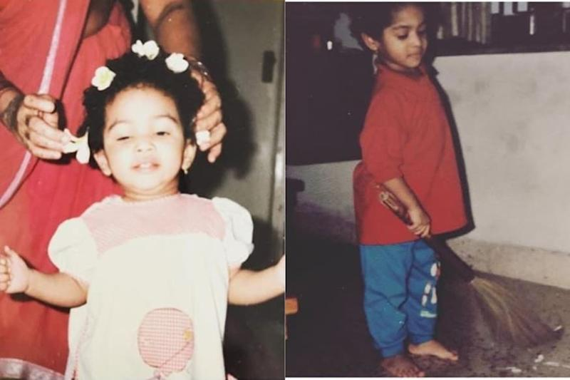 Masaba Gupta Shares Lesson by Mom Neena Gupta with Childhood Pics, See Here